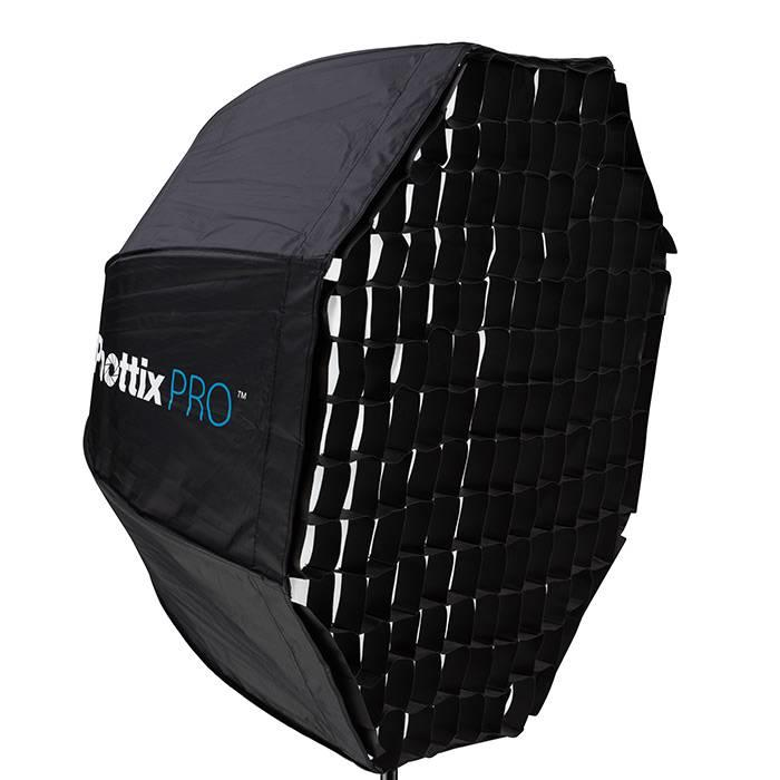 "Phottix Easy Up HD Umbrella Octa Softbox w/Grid (80cm/32"") & Varos PRO S Kit"