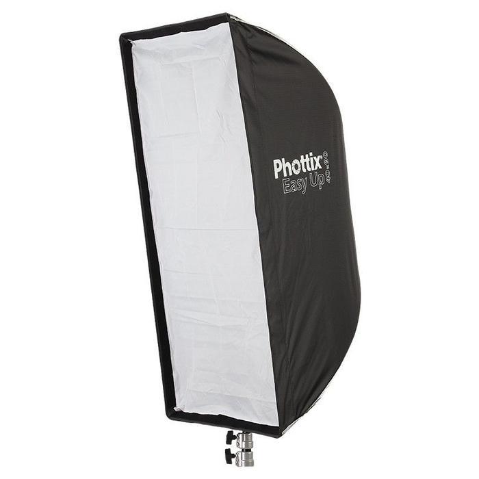 """Phottix Easy Up HD Umbrella Strip Softbox w/Grid (16x35"""")"""