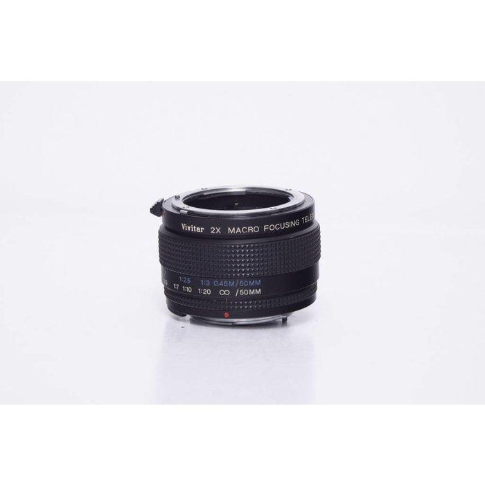 Vivitar 2x Macro Focusing Teleconverter for Nikon