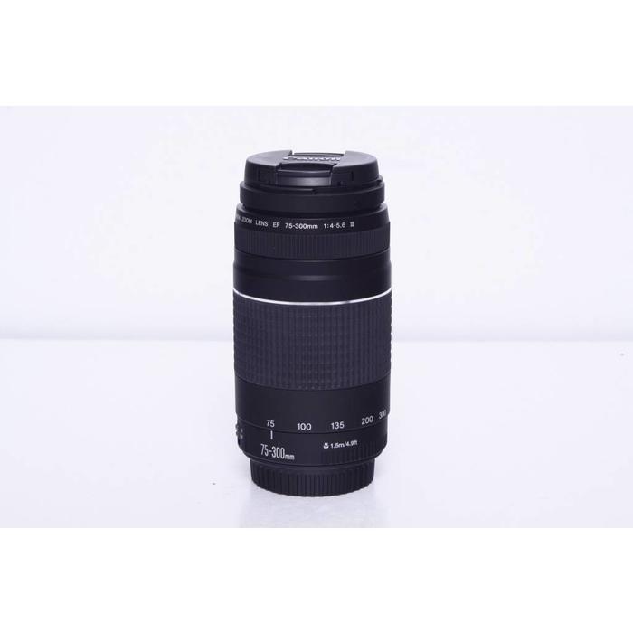 Canon Zoom lens EF 75-300mm f4-5.6 III