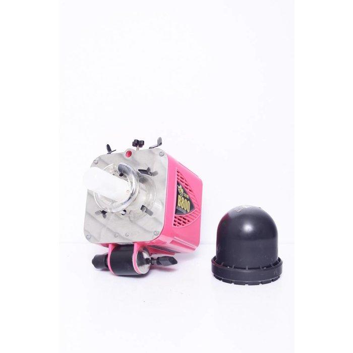 Alienbees B800 Studio Strobe - Martian Pink