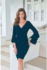 Frank Lyman Frank Lyman V-Neck Dress in Midnight Blue - 176026