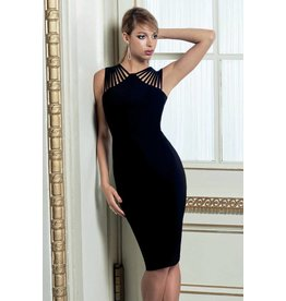 Frank Lyman Frank Lyman Sleeveless Multi Strap Cocktail Dress - 179015