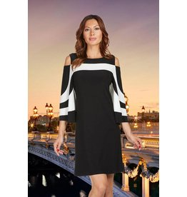 Frank Lyman Frank Lyman Black/Off White Dress  - 176023