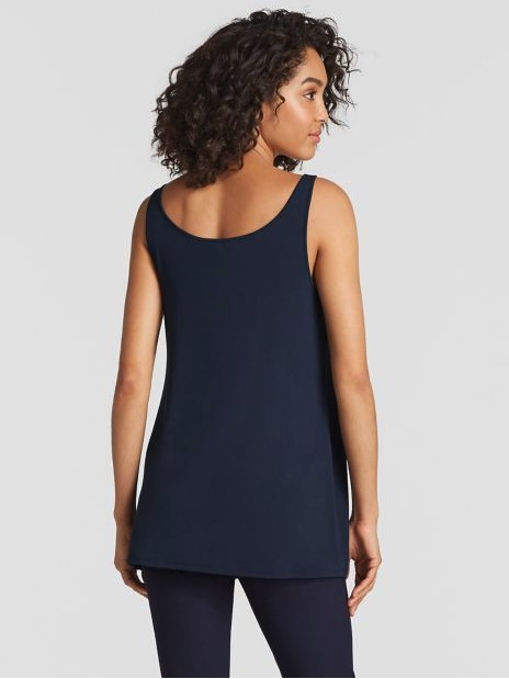 Eileen Fisher SYSTEM VISCOSE JERSEY TUNIC EEVFF-U2330M