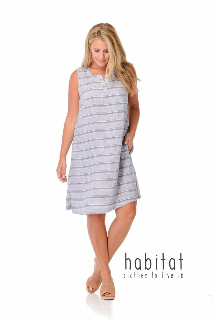 Habitat Vineyard Stripe shift dress