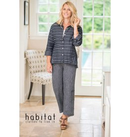 Habitat Linen City Stripe Shirt