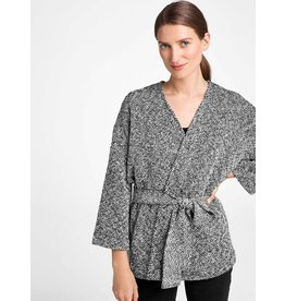 Eileen Fisher HANDWOVEN PERUVIAN ORGANIC COTTON  WRAP
