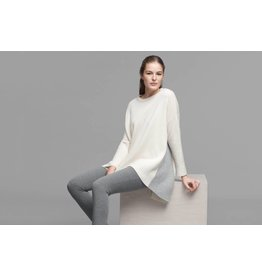 Eileen Fisher Lofty Cashmere Roundneck Top