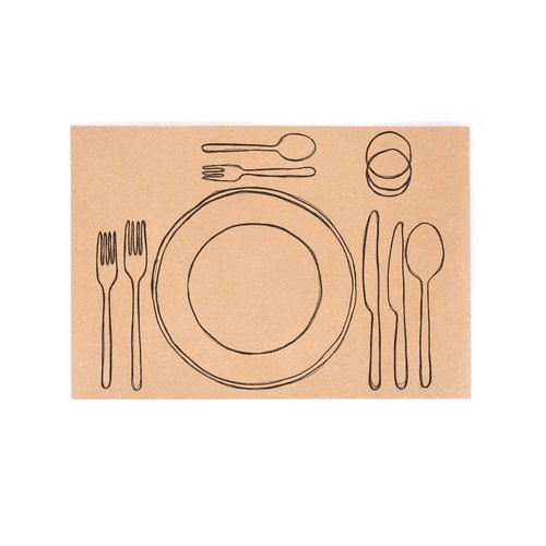 "Paper Placemats ""Table Settings"""