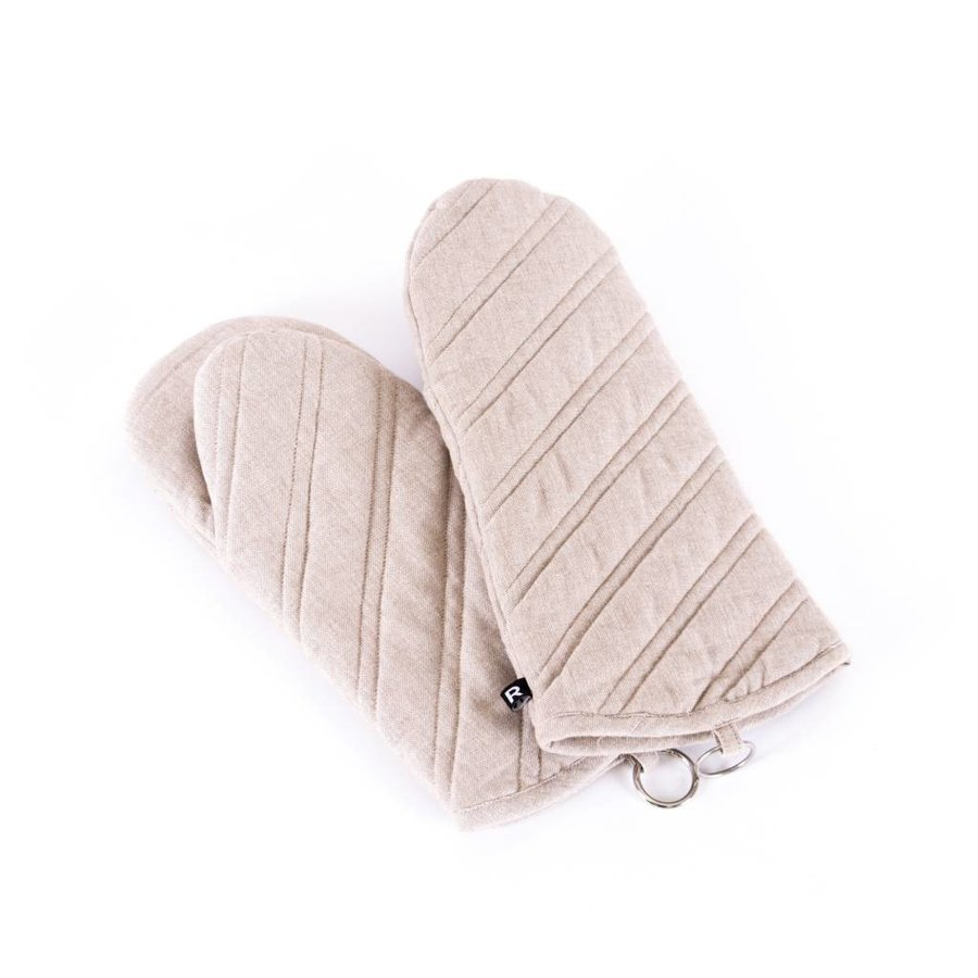 Chambray Oven Mitts - Photo 0