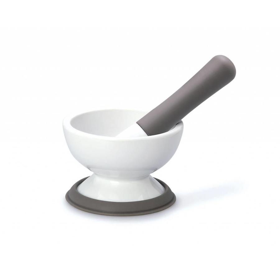 Mortar and Pestle for Spices with container - Photo 0