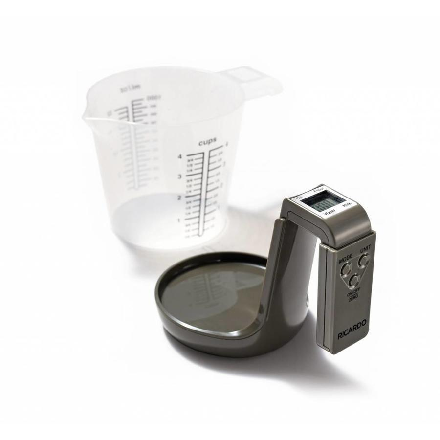 2 in 1 Measuring Cup with integrated Scale - Photo 0