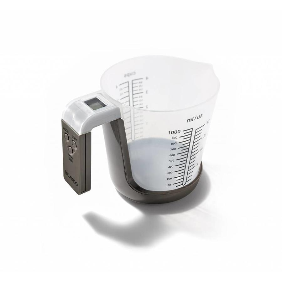 2 in 1 Measuring Cup with integrated Scale - Photo 1