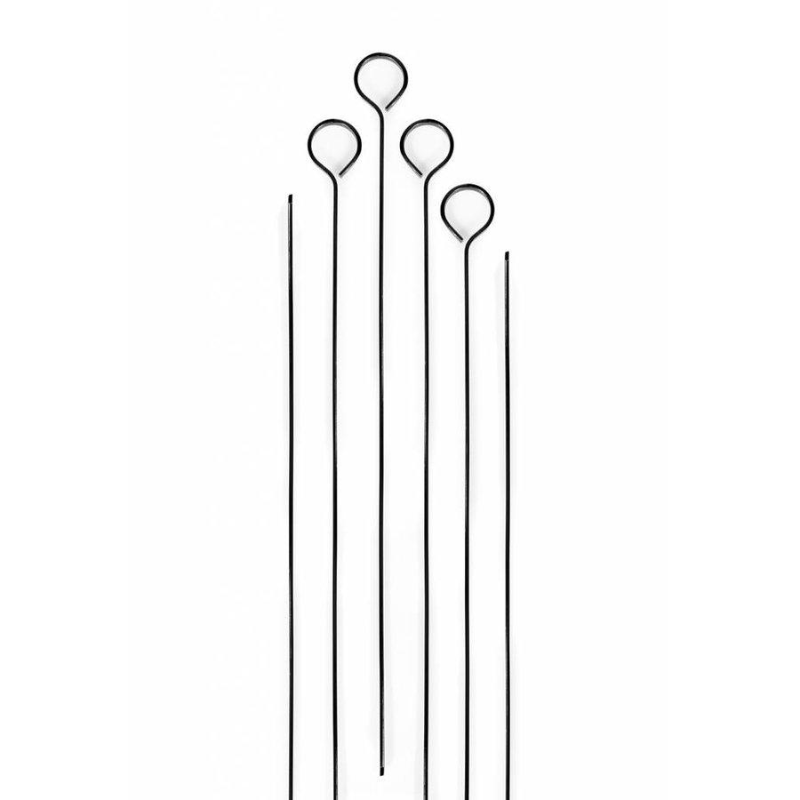 Ensemble de 6 brochettes antiadhésives - Photo 0