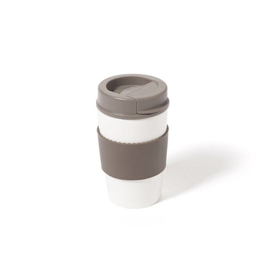 Ceramic Cup with Lid - Photo 0