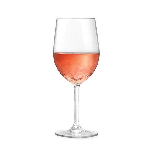Ensemble de verres à vin résistants aux chocs