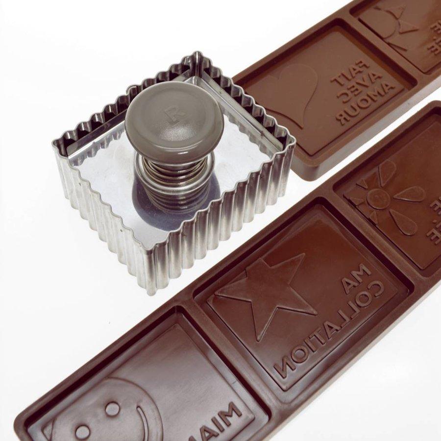 Emporte-pièce pour biscuits petits beurre et moules à chocolat - Photo 1