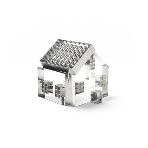 3D House Cookie Cutter Set