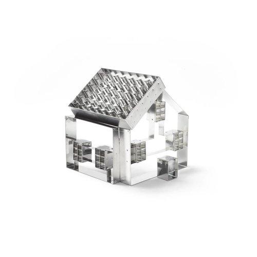Emporte-pièces en forme de maison en 3D