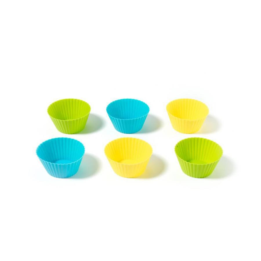Set of 6 Silicone Muffin Liners - Photo 0