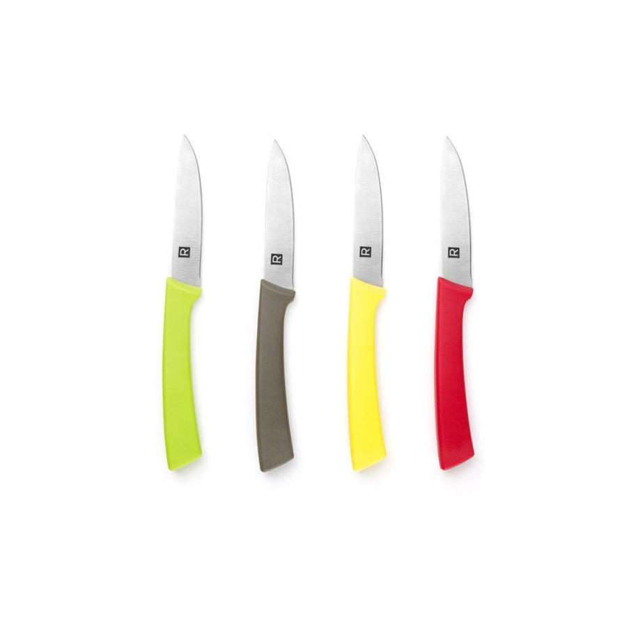Set of 4 Stainless Steel Paring Knives - Photo 1