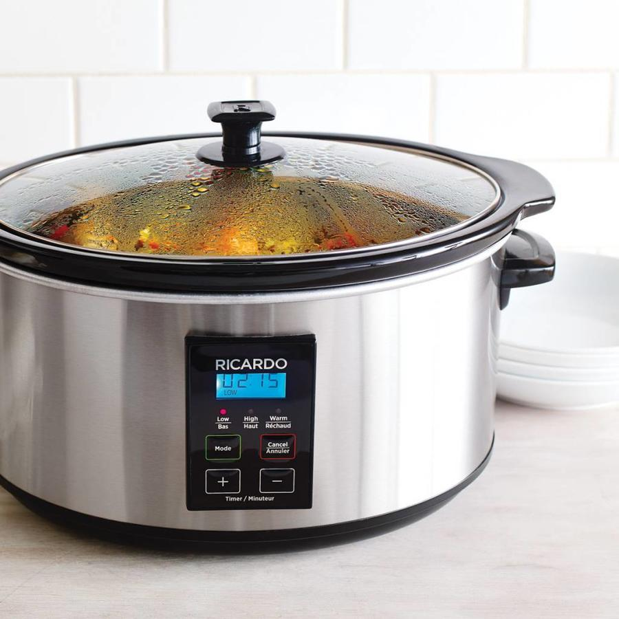 Digital Slow Cooker, 6 qt (5.4 L) - Photo 1