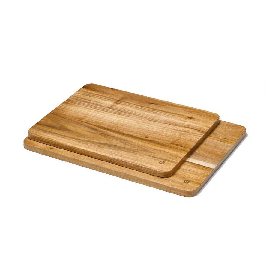 Set of 2 Acacia Wood Serving Boards - Photo 0