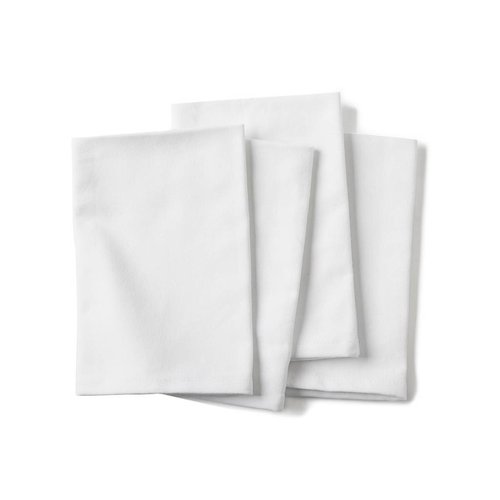 Serviette de table blanche