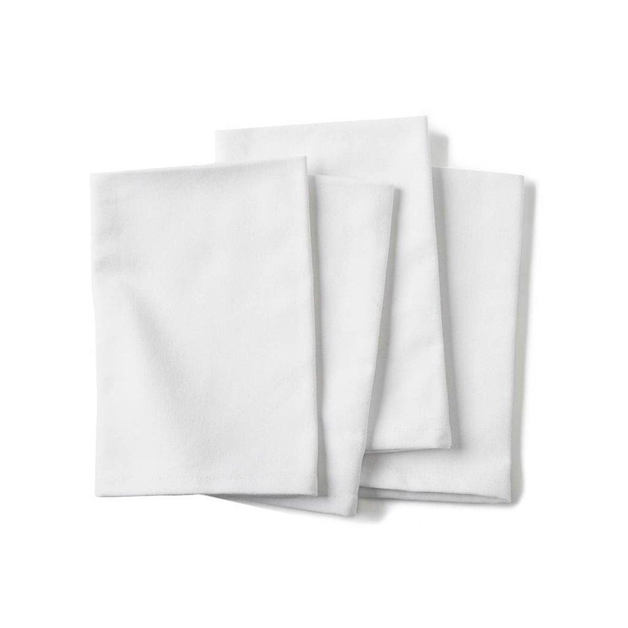 Serviette de table blanche - Photo 0