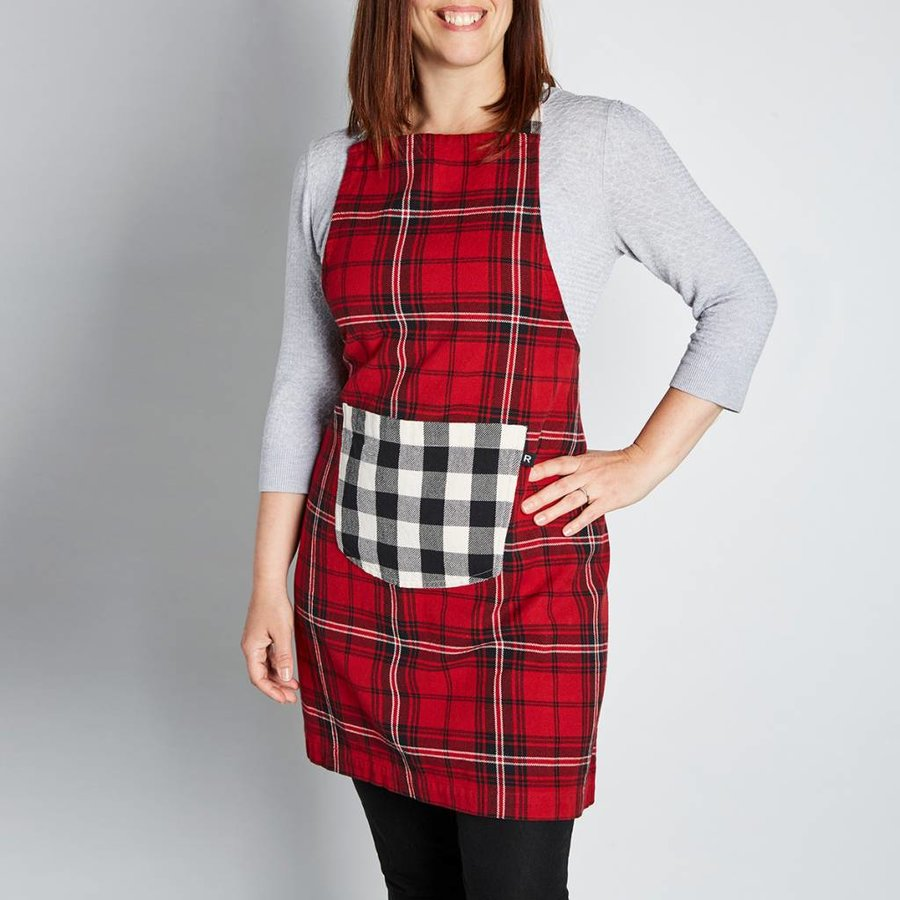 Red Checkered Apron - Photo 0