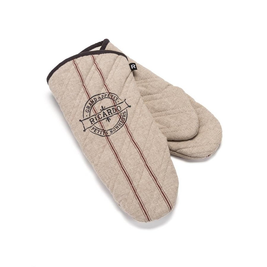 """Grand appétit"" Oven Mitts - Photo 0"