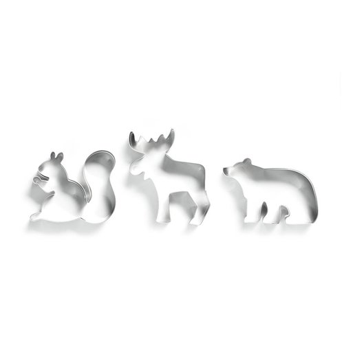 Animal-shaped Cookie Cutter Set