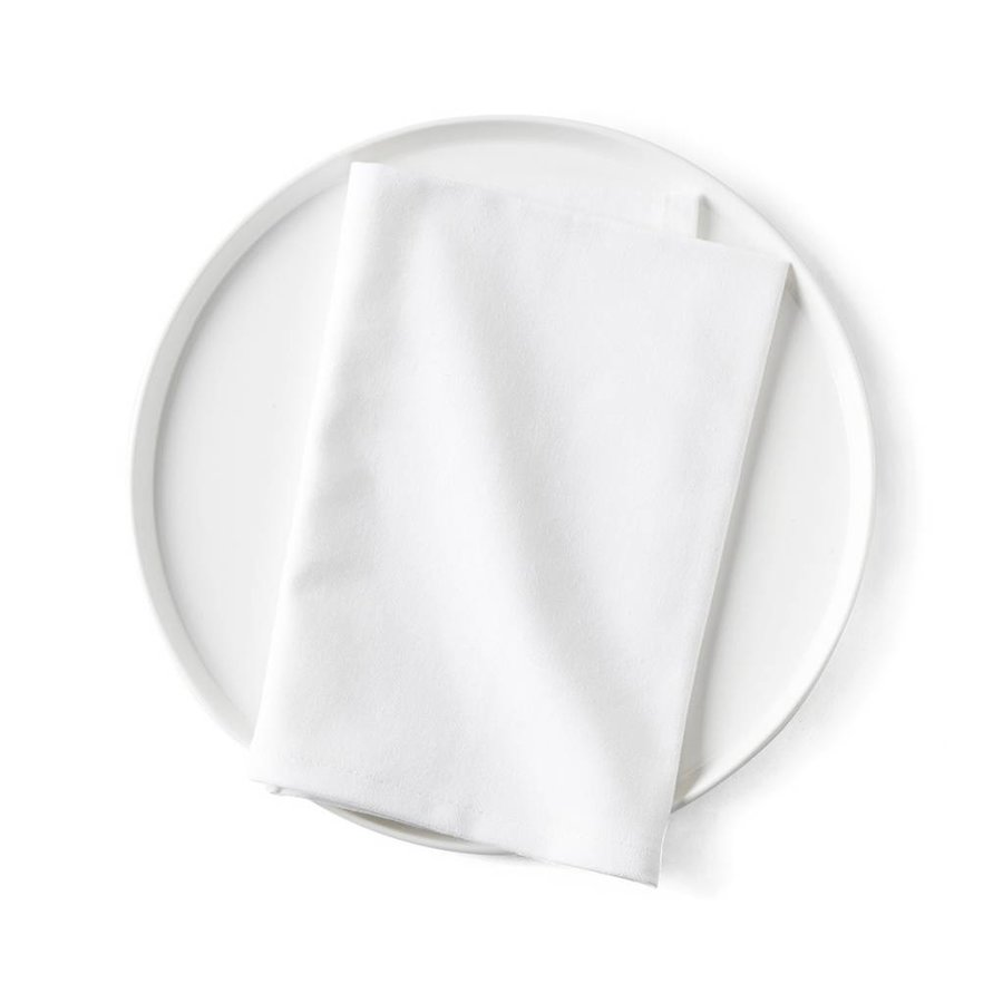 Serviette De Table Blanche Boutique Ricardo