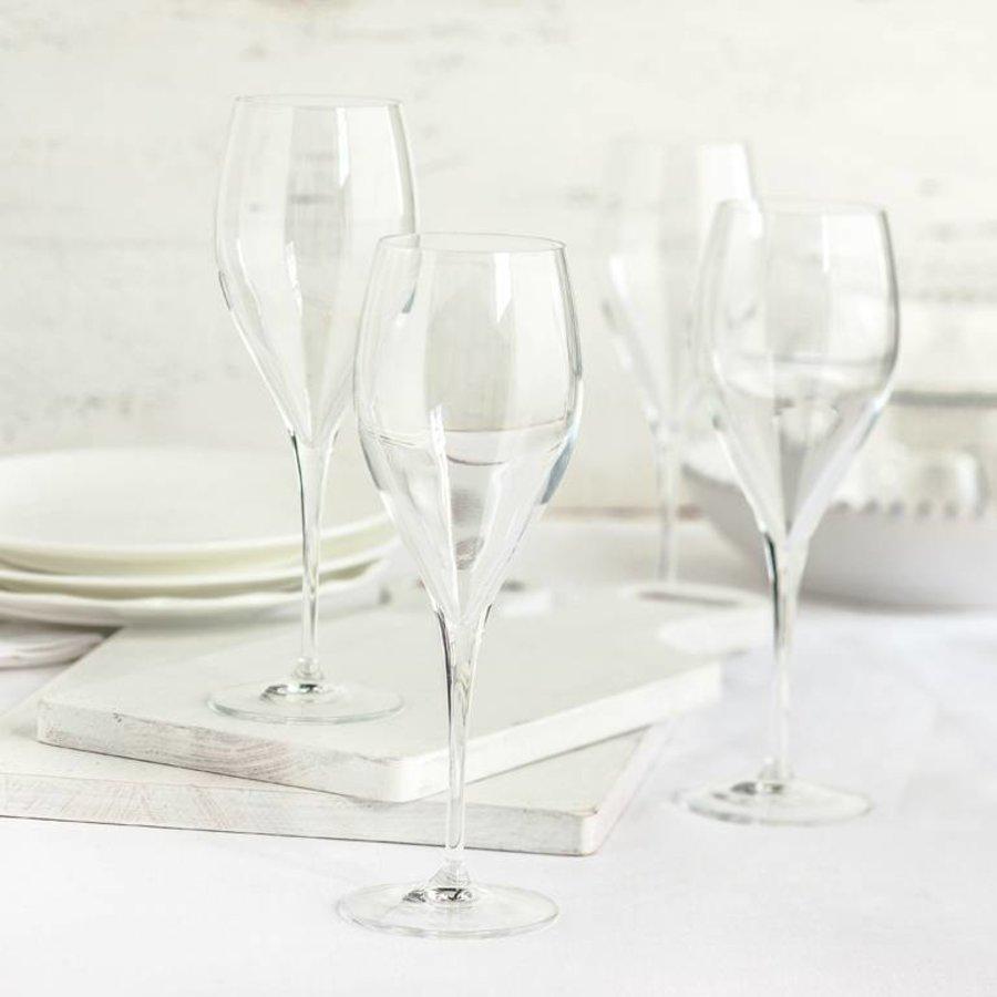 Ensemble de 6 verres à champagne en cristallin de 30 cl (10 oz) - Photo 1