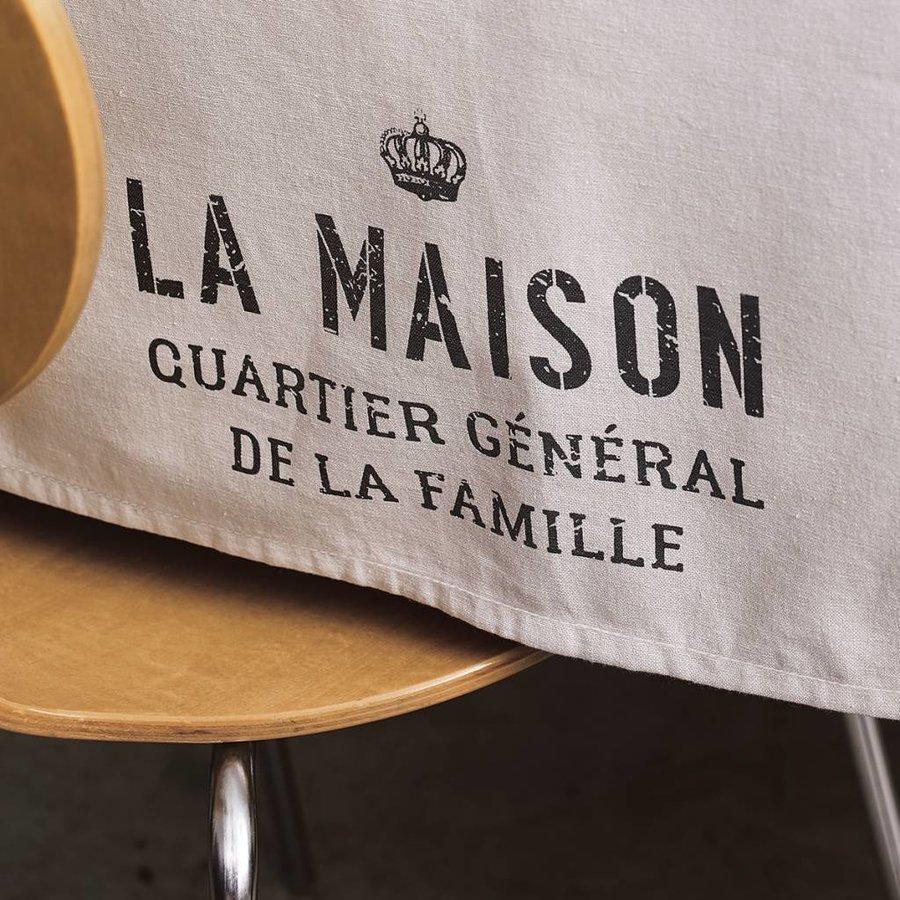 Nappe« La maison,quartier général » - Photo 1