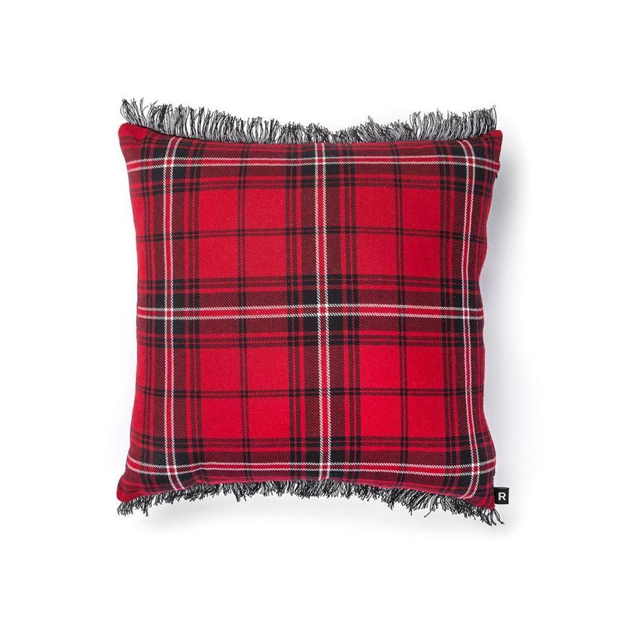 Red Checkered Cushion - Photo 0