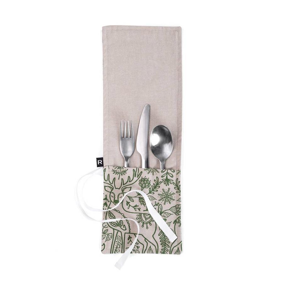 Nordic Forest Utensil Pouch for Lunch - Photo 0