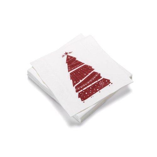 Serviette en papier «Mon beau sapin»