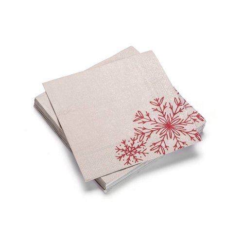 Serviettes en papier forêt nordique