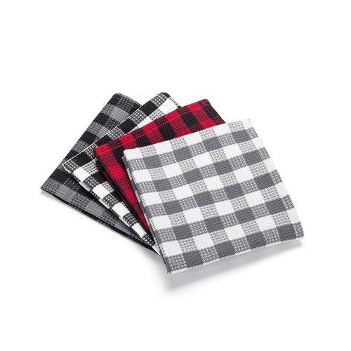 Checkered Dishcloths