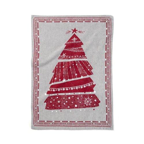 """Mon beau sapin"" Tea Towel"