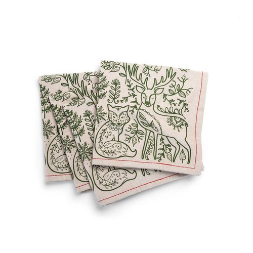 Nordic Forest Napkins