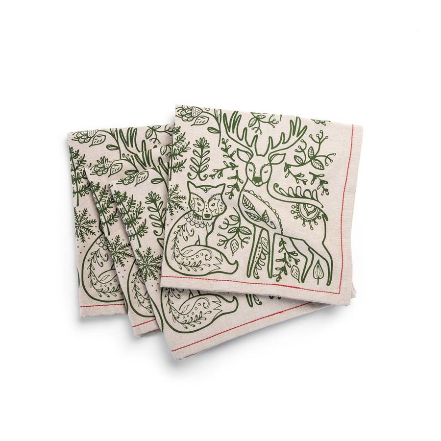 Nordic Forest Napkins - Photo 0