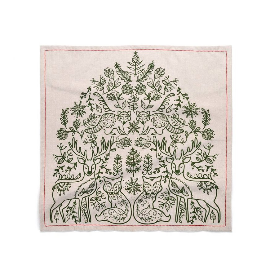 Nordic Forest Napkins - Photo 1