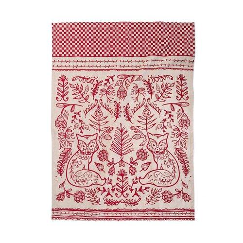 Nordic Forest Tea Towel