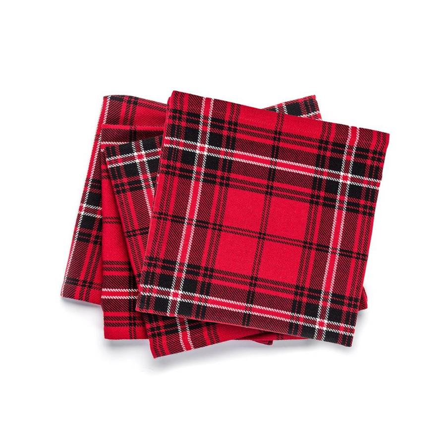 Red Checkered Napkins - Photo 0