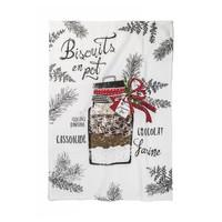 """""""Biscuits en pot"""" Tea Towel"""