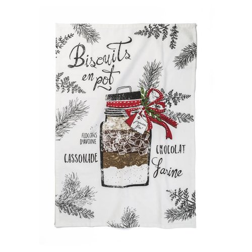 """Biscuits en pot"" Tea Towel"
