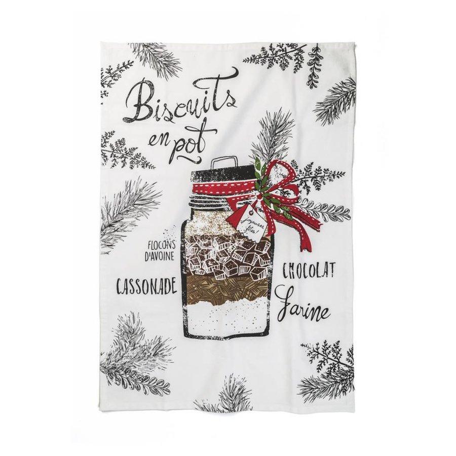 """""""Biscuits en pot"""" Tea Towel - Photo 0"""